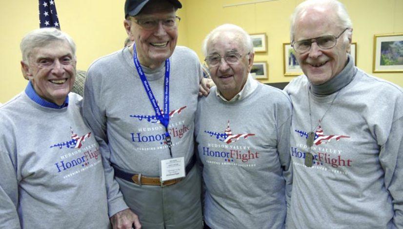 Local Vets Share Honor Flight Experience