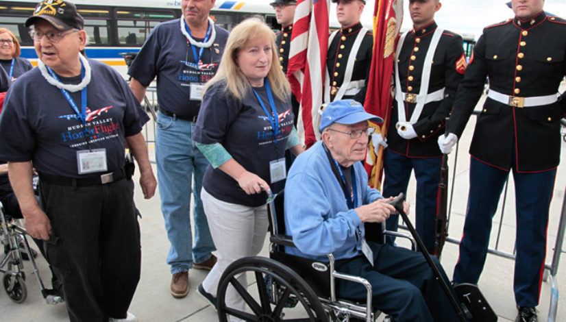 Flight Day for Hudson Valley Veterans