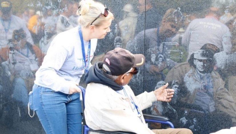 Veterans visit Korean War Memorial